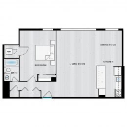Shirlington House A1I Floorplan