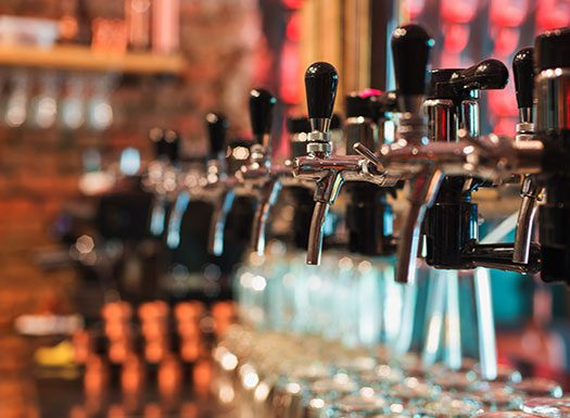 Shirlington House Beer Taps