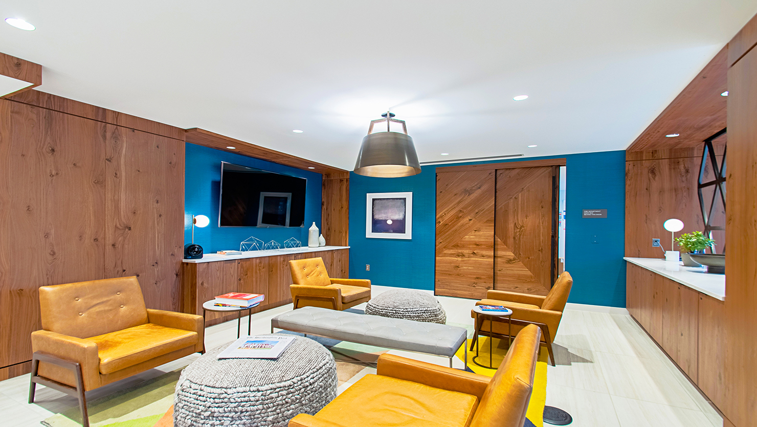 Shirlington House Resident Lounge