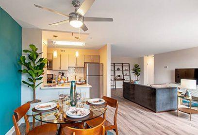 Shirlington House Living Area